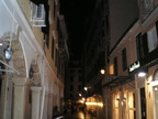 Another evening in Corfu Town